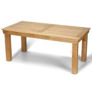 Beauly Oak Furniture Fixed Top Dining Table - 180cm