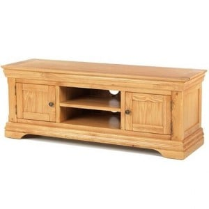 Beauly Oak Furniture Plasma TV Media Video Cabinet