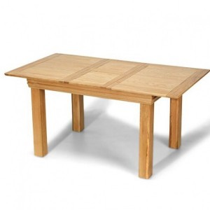 Beauly Oak Furniture Small Extending Dining Table 125-165cm