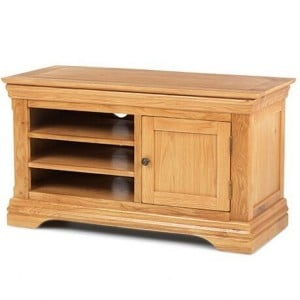 Beauly Oak Furniture TV Video Cabinet