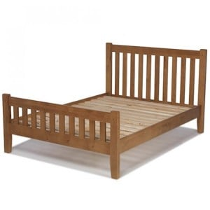 Coleshill Oak Furniture 5ft King Size Bed