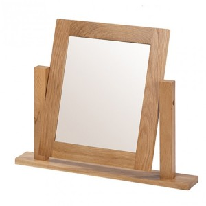 Coleshill Oak Furniture Dressing Table Mirror