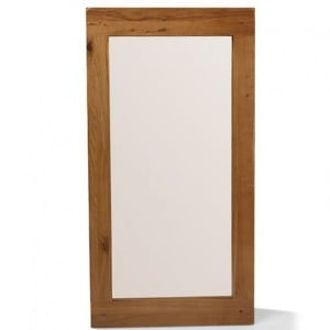 Coleshill Oak Furniture Large Rectangular Wall Mirror