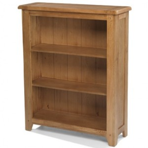 Coleshill Oak Furniture Low Bookcase