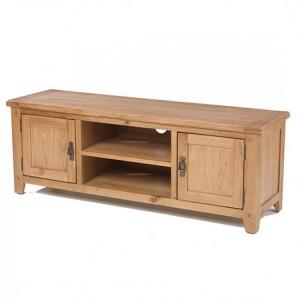 Coleshill Oak Furniture Plasma TV/DVD/Video Unit