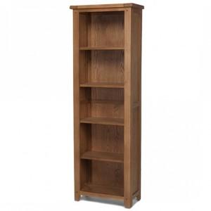 Coleshill Oak Furniture Tall Slim Narrow Bookcase