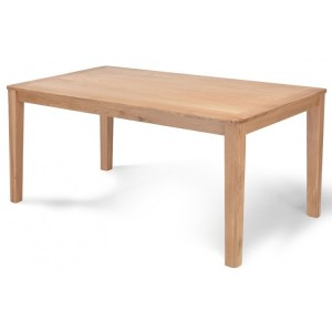 Greenwich Oak Furniture 150cm Fixed Top Dining Table