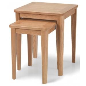 Greenwich Oak Furniture Nest of 2 Tables