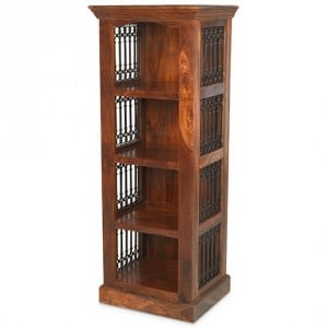 Kanpur Indian Sheesham Furniture Alcove Bookcase