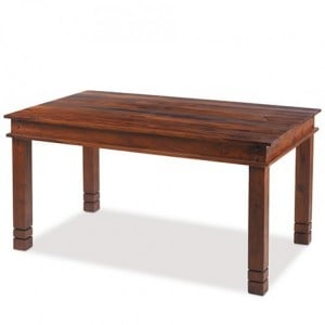 Kanpur Indian Sheesham Furniture Chunky Dining Table - 120 x 90