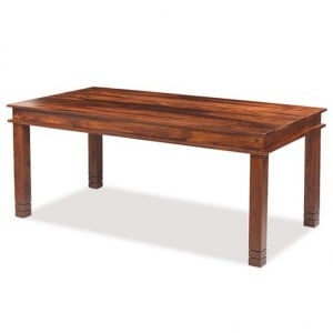 Kanpur Indian Sheesham Furniture Chunky Dining Table - 200 x 90