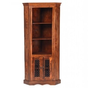 Kanpur Indian Sheesham Furniture Corner Display Unit