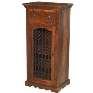 Kanpur Indian Sheesham Furniture Entertainment Hi-Fi Cabinet