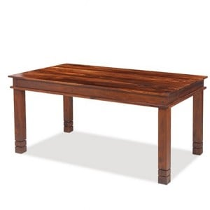 Kanpur Indian Sheesham Furniture Chunky Dining Table - 160 x 90