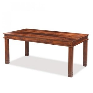 Kanpur Indian Sheesham Furniture Chunky Dining Table - 180 x 90