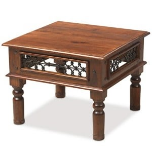 Kanpur Indian Sheesham Furniture Square Coffee Table - 60 x 60