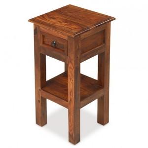 Kanpur Indian Sheesham Furniture Lamp Telephone Table