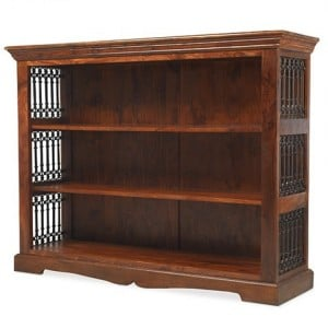 Kanpur Indian Sheesham Furniture Low Bookcase