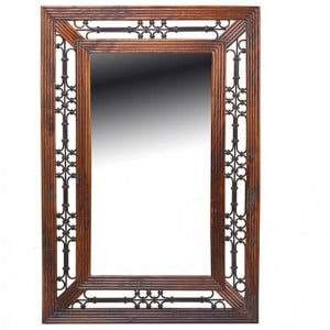 Kanpur Indian Sheesham Furniture Small Wall Mirror