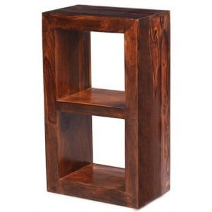 Mumbai Sheesham Indian Furniture 2 Hole Cube