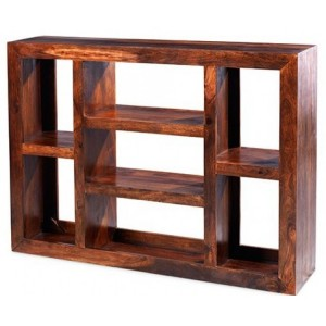 Mumbai Sheesham Indian Furniture Large Multi Shelf