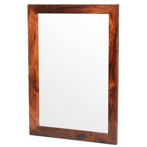 Mumbai Sheesham Indian Furniture Large Rectangular Mirror