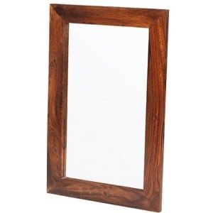 Mumbai Sheesham Indian Furniture Small Mirror