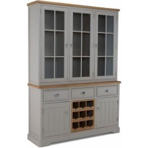 Summertown Painted Grey Furniture Large Dresser