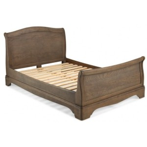 Vezelay Oak Furniture 4ft6in Double Bed Frame