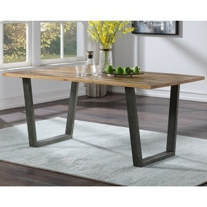 Urban Elegance Reclaimed Wood Furniture 180cm Dining Table