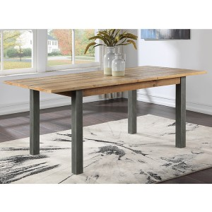 Urban Elegance Reclaimed Wood Furniture 200cm Extending Dining Table
