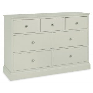 Bentley Designs Ashby Cotton Painted Furniture 3 Over 4 Drawer Chest