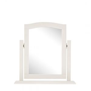 Bentley Designs Ashby White Painted Furniture Vanity Mirror