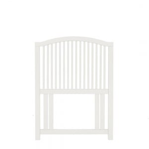 Bentley Designs Ashby White Painted Furniture Slatted Headboard 3ft
