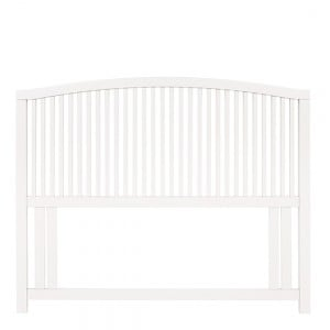 Bentley Designs Ashby White Painted Furniture Slatted Headboard 4ft6