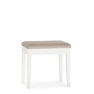 Bentley Designs Ashby White Painted Furniture Stool