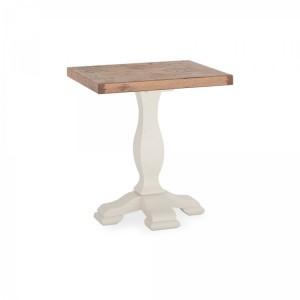 Bentley Designs Belgrave Furniture Two Tone Lamp Table