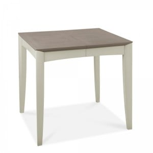 Bentley Designs Bergen Grey Painted Extension Dining Table 2-4 Seater