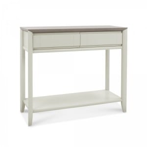 Bentley Designs Bergen Grey Painted Console Table With Drawer