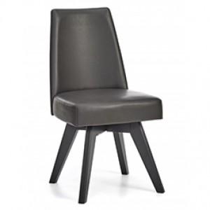 Bentley Designs Brunel Furniture Upholstered Swivel Chair - Grey Pair