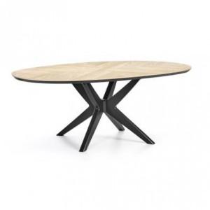 Bentley Designs Brunel Furniture Elliptical Dining Table