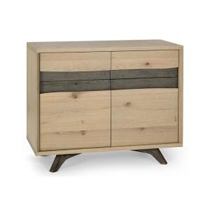 Bentley Designs Cadell Oak Furniture Narrow Sideboard