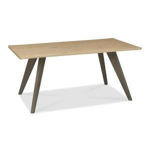 Bentley Designs Cadell Oak Furniture 6 Seater Dining Table