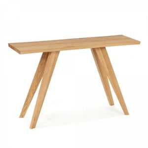 Cadell Rustic Oak Furniture Console Table