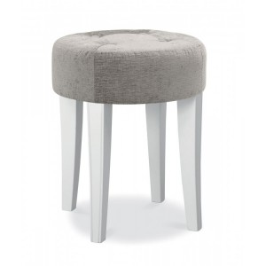 Bentley Designs Chantilly White Furniture Dressing Table Stool