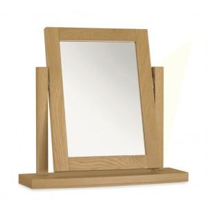 Bentley Designs Hampstead Oak Furniture Dressing Table Mirror