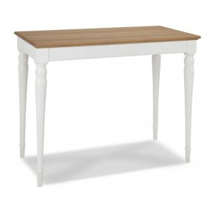 Hampstead Two Tone Painted Furniture Bar Table With Turned Legs