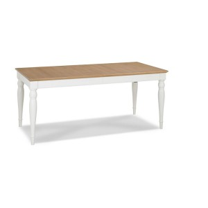 Hampstead Two Tone Painted Furniture 6-8 Extending Dining Table