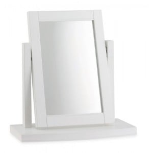 Hampstead White Painted Furniture Dressing Table Vanity Mirror