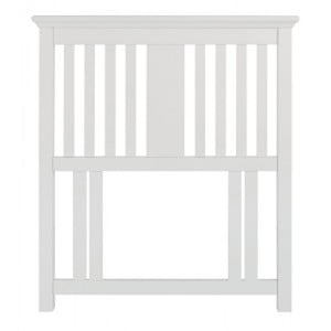 Hampstead White Painted Furniture Single 3ft Headboard